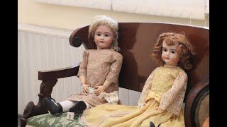В Кинешме открылась выставка антикварных кукол