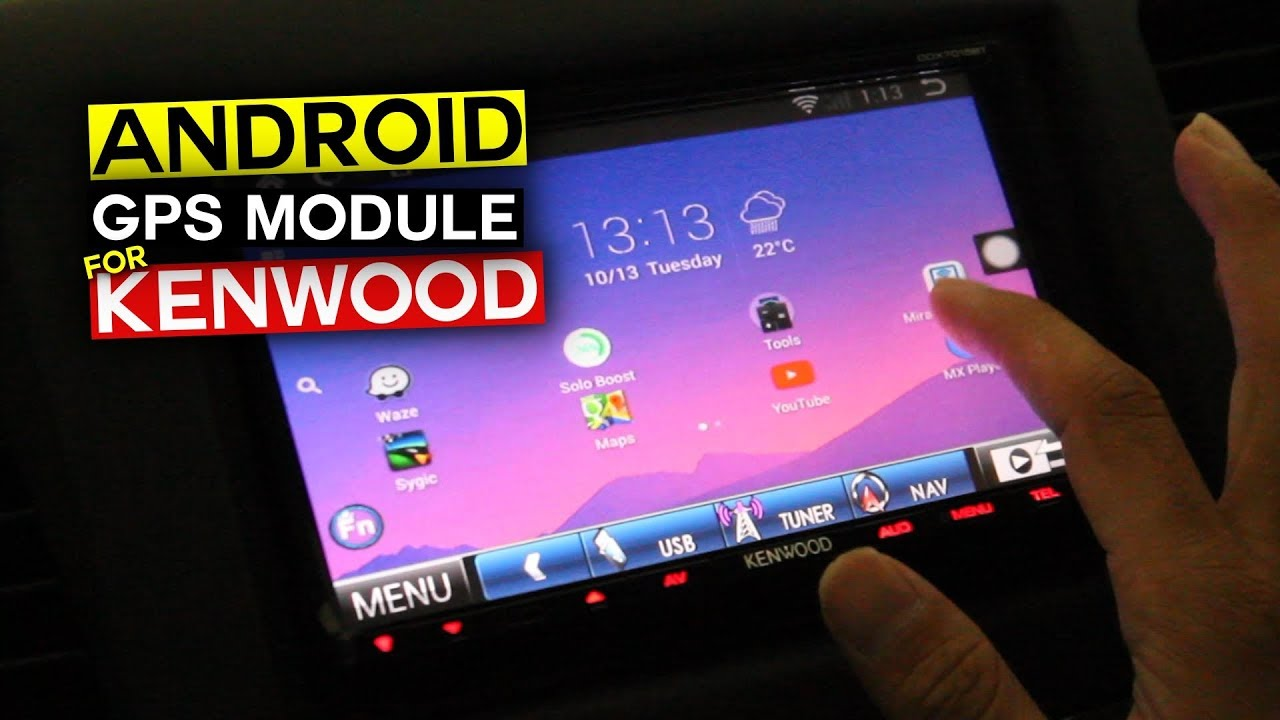 Android GPS Module with Kenwood DDX7015BT by yangpentingkomentar