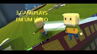 SALVE O VILLAGER, KOGAMA VS ROBLOX, THE FLOOR IS POISON! - KoGaMa