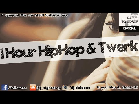 Special HipHop / Black RnB Twerk & Trap Hype Party Club Mix 2016 | by DJ Nightdrop [5K Subs Special]