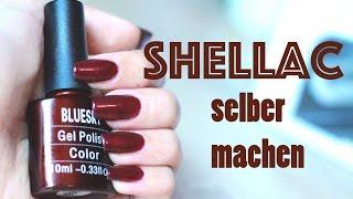 Shellac selber machen (Anleitung) Shellac auftragen 3 Wochen haltbarer Nagellack | Heavensdream