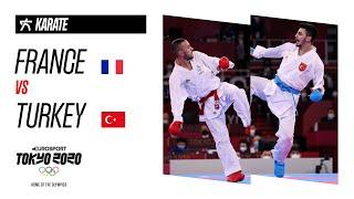 FRANCE vs TURKEY | KARATE Kumite Men's 67Kg FINAL | Highlights