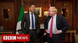 Boris Johnson and Leo Varadkar say Brexit deal is possible - BBC News