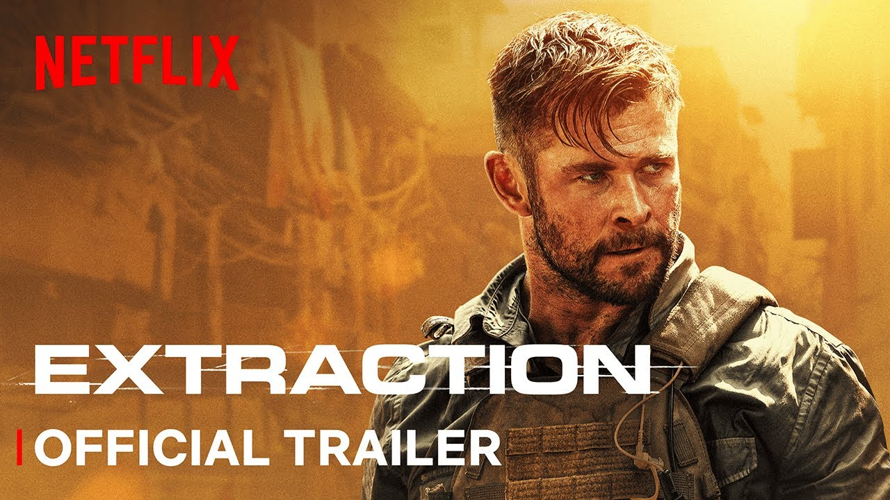 Extraction   Official Trailer   Screenplay by JOE RUSSO Directed by SAM HARGRAVE   Netflix