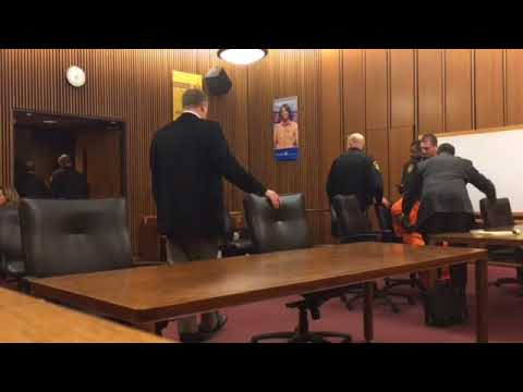 Cleveland man convicted of murder refuses to leave courtroom: 'They know I didn't do this'