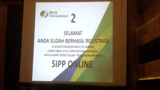 Tutorial BPJS Ketenagakerjaan (Jamsostek) Online Bagian ke 1