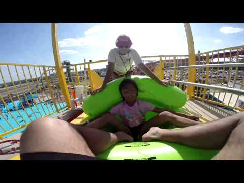 Hurricane Harbor Thrill Ride - Mega Wedgie