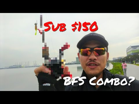 Sub $150 Bait Finesse Combo?? Fishing In Singapore