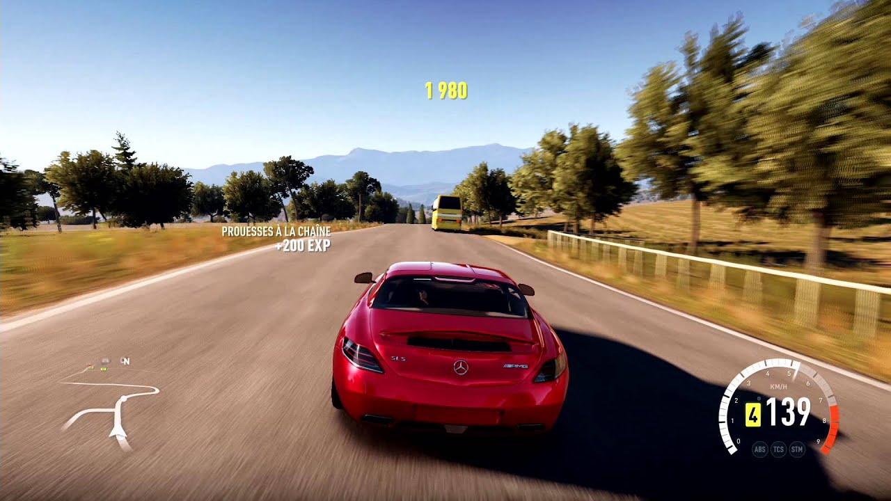 Forza Horizon 3 Wallpaper Hd Forza Horizon 2 Mercedes Benz Sls Amg Gameplay Hd 1080p