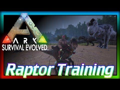 """Training a Raptor"" (ARK: Survival Evolved) The Story of Artemis"
