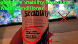 ✅  How To Use Seachem Stability Aquarium Water Conditioner Review