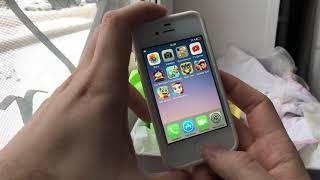 Подписчик подарил iPhone 4s для дочери - как он в 2019?!