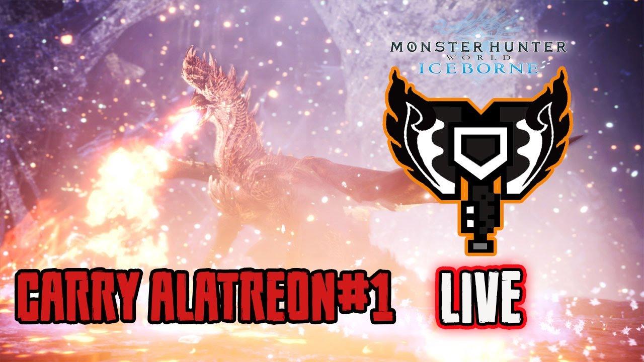 [ PS4 ] Carry hunter world : Alatreon session ID : 47iz ai7d bHk6