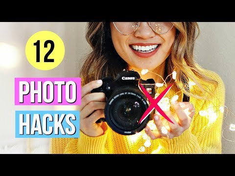 12 Photography Hacks EVERYONE Must Know!