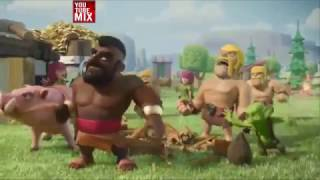 Clash Royale Vs Clash Of Clans New Full Animated Mini Movie 2017 Compilation