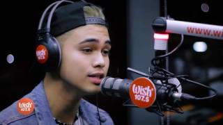 "Inigo Pascual performs ""Dahil Sa'yo"" LIVE on Wish 107.5 Bus"