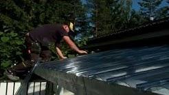 Valokatteen asennus - Fastlock Uni -valokatteen asentaminen terassin katteeksi