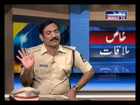 Satyanarayana,IPS, DCP South zone interview with Munsif TV/PRO HYDERABADPOLICE