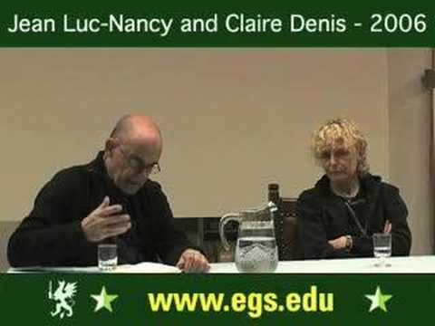 Claire Denis + Jean Luc Nancy. Jean-Luc Godard: Sympathy for the Devil. 2006 1/2