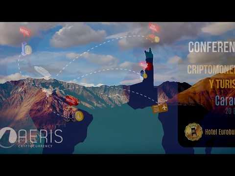 Conferencia Aeriscoin - Criptomonedas y Turismo (Caracas-Vzla.)