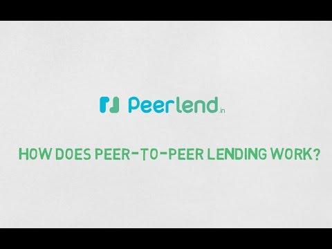 how does Peer-to-Peer Lending work ? peerlend.in