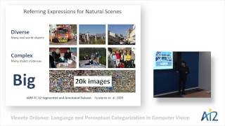 Vicente Ordonez: Language and Perceptual Categorization in Computer Vision