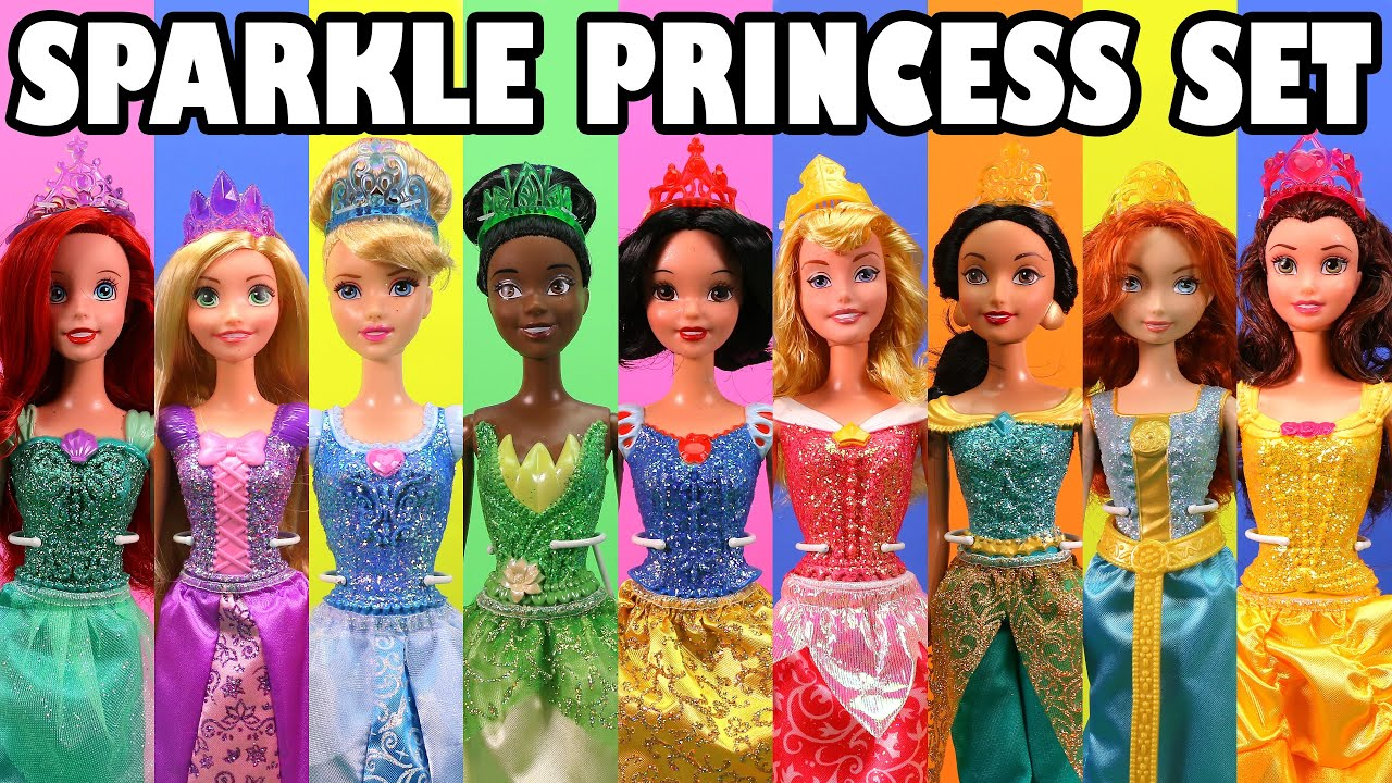 Disney Sparkling Princess Doll Review And Contest