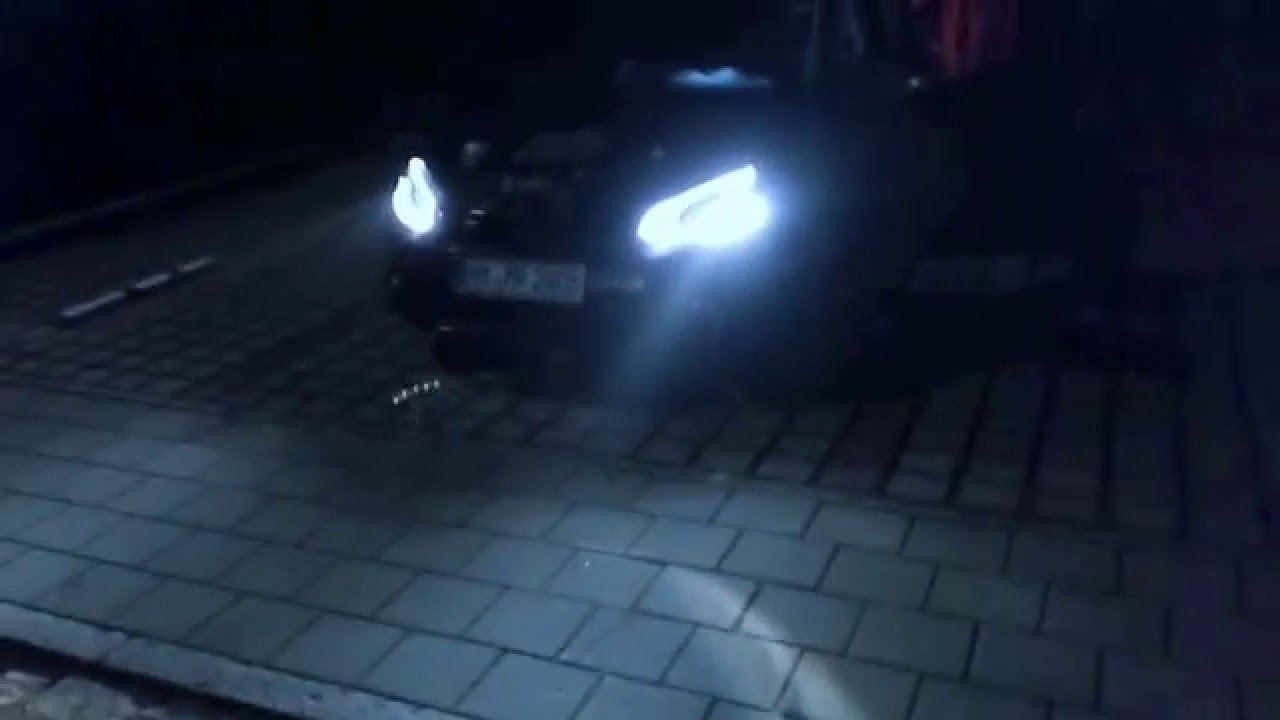 Golf 6 LED Scheinwerfer H7 - YouTube