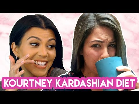 I Ate Like Kourtney Kardashian For A Week