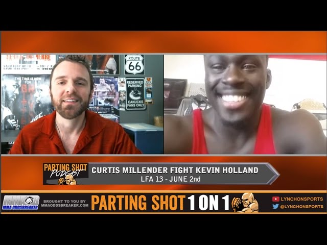 """LFA 13's Curtis Millender """"I have a great record I just need to add finishes"""""""