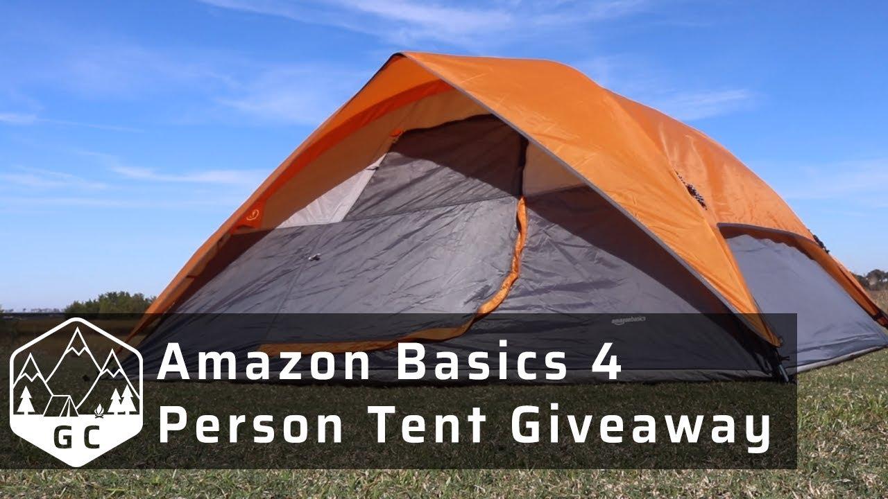 amazon tent giveaway