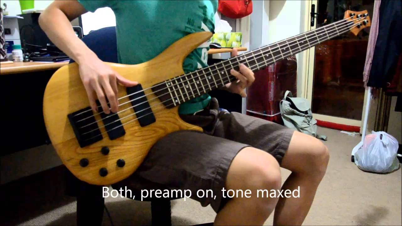 diy kit 5 string bass with active preamp part 2 of 2 youtube. Black Bedroom Furniture Sets. Home Design Ideas