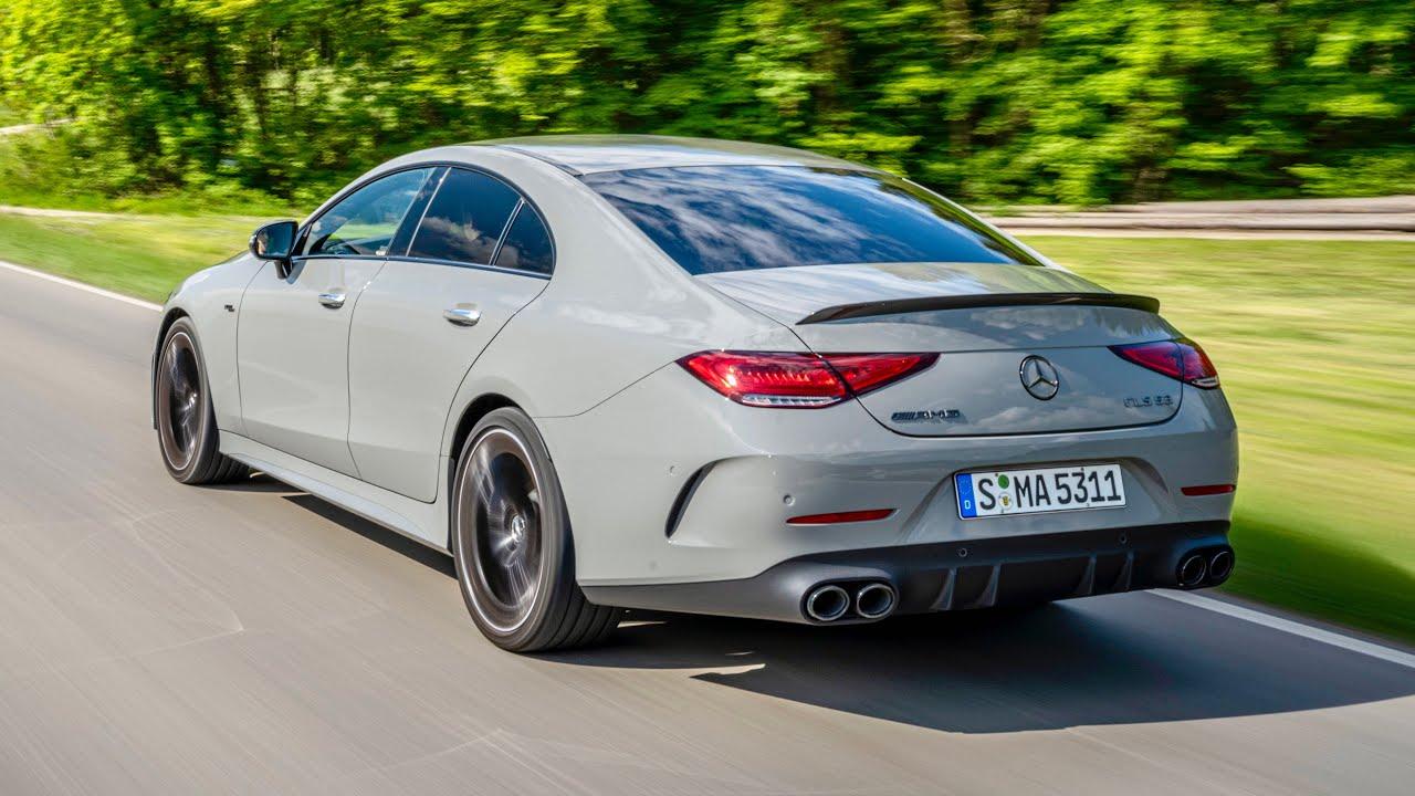 2022 Mercedes-AMG CLS 53 4MATIC+ Exterior Interior Driving Scenes 4K