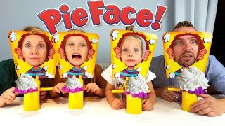 Игра в 4 лица или торт в лицо челлендж