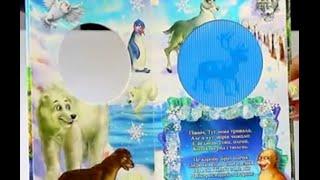 Обзор - распаковка игрушек Книжка Живые картинки ДАНКО - ТОЙС
