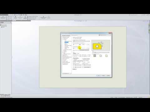 Solidworks. Урок 5.3. Настройка под ГОСТ ЕСКД - создание чертежа