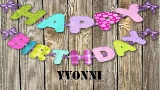Yvonni   Birthday Wishes