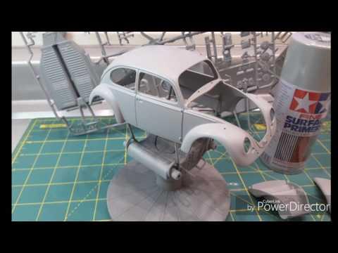 VW 1300 Beetle 1966 1/24 Tamiya #1 Step by step