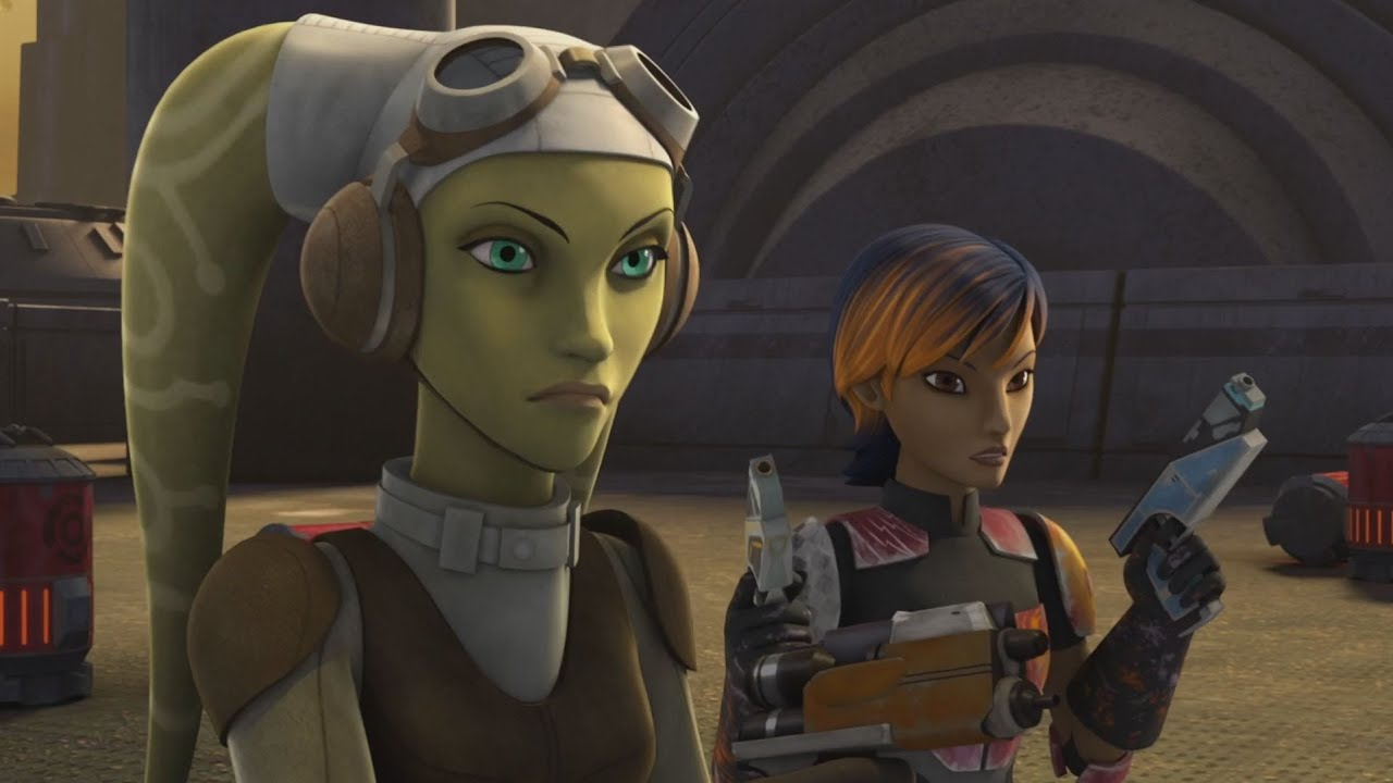 Image result for sabine wren and hera syndulla