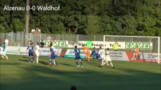 FC Bayern Alzenau vs. SV Waldhof Mannheim 07  4. Spieltag  12/13
