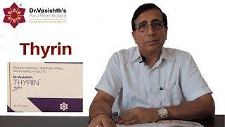 Dr.Vasishth's AyuRemedies for Hypothyroidism: Thyrin