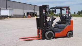 Toyota 8FGCU25 Forklift Demo