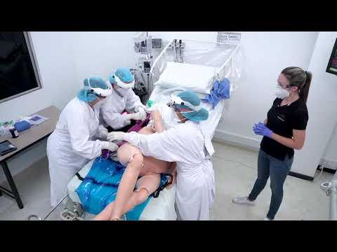 Download Simulación atención de paciente embarazada con sospecha de Covid-19 en trabajo de parto