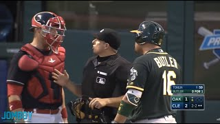 Billy Butler takes offense to Gimenez framing pitches, a breakdown