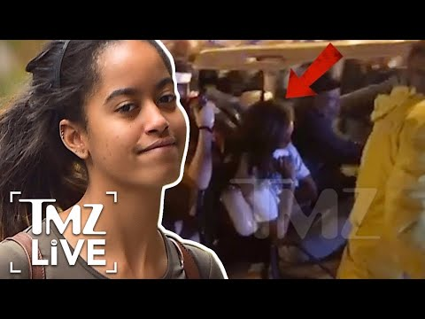 Malia Obama Out Of It At Lollapalooza | TMZ Live