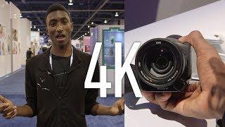 4K Cameras at CES 2014!