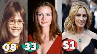 Julia Roberts ♕ Transformation From 04 To 51 Years OLD