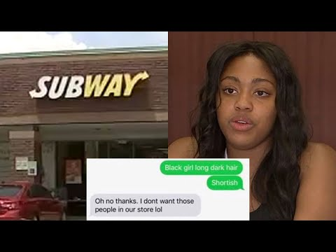 Subway manager fired for denying black teen job