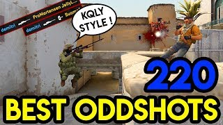 "CSGO - ""DOUBLE KQLY !!"" - BEST ODDSHOTS #220 (+GIVEAWAY)"