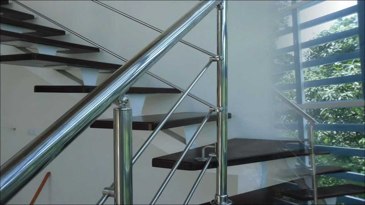 Escaleras y barandas en acero inoxidable youtube - Barandas para escaleras ...